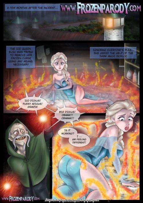 Frozen Parody-4